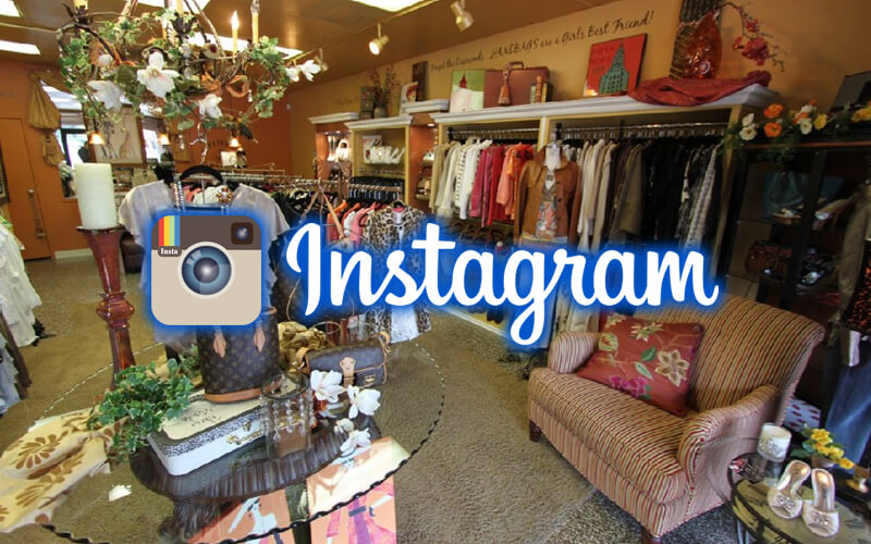 instagram for womens consignment shops