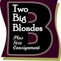 Two Big Blondes Plus Size Consignment Womens Consignment logo