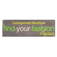 Find Your Fashion Again Womens Consignment shop