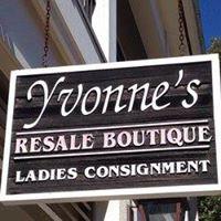 Yvonne's Resale Boutique Womens Consignment shop