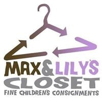 Max And Lilly's Closet Childrens Consignment logo