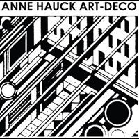 Anne Hauck Art Deco Antique logo