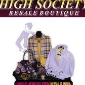 High Society Resale Boutique Womens Consignment logo