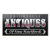 The Collinsville Antiques Co. of New Hartford Antique shop