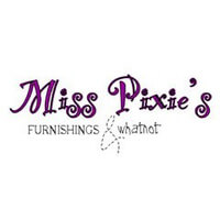 Miss Pixie's Furnishings and Whatnot Vintage logo