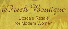 reFresh Boutique logo