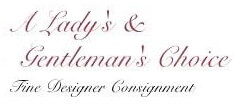 A Lady's & Gentleman's Choice Consignment  logo
