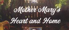Mother Mary's Heart and Home Vintage logo