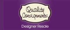 Quality Consignments logo