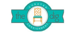 The Dig Curated Consignment logo