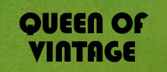 Queen of Vintage Vintage logo