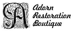 Adorn Restoration Boutique Vintage logo