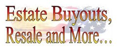 Estate Buyouts, Resale and More Estate shop