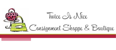 Twice Is Nice Consignment Shoppe logo
