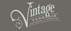Vintage VanBlair Antiques & Oddities Vintage logo