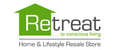 Retreat Home and Lifestyle Resale Store Resale logo