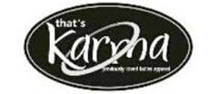 That's Karma Womens Consignment logo