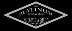 Platinum Sports and Music Memorabilia Collectibles logo