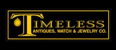 Timeless Antiques, Watch & Jewelry Company logo