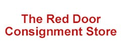 The Red Door Consignment Store Vintage logo