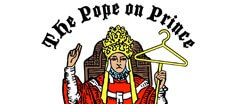 The Pope on Prince Vintage logo