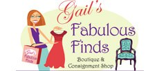 Gail's Fabulous Finds Womens Consignment logo