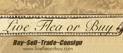 Live Flea or Buy Resale logo