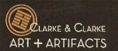 Clarke & Clarke Art + Artifacts Antique logo