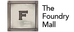 The Foundry Mall Antique logo