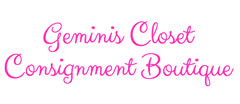 Gemini's Closet Consignment Boutique Womens Consignment logo
