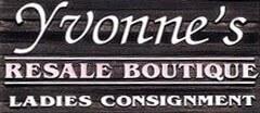 Yvonne's Resale Boutique Womens Consignment logo