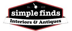 Simple Finds Interiors & Antiques Antique logo