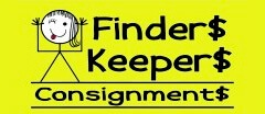 Finders Keepers Consignment logo