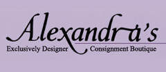 Alexandra's Designer Consignment Boutique Womens Consignment shop