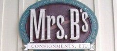 Mrs. B's Consignments, Etc. Furniture Consignment shop
