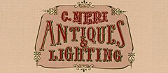 C. Neri Antiques and Lighting Antique logo
