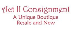 ACT II Consignment Boutique Womens Consignment shop