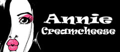 Annie Creamcheese Designer Vintage Clothing Vintage logo