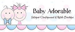 Baby Adorable Designer Consignment & Resale Boutique Childrens Consignment shop