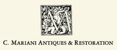 C. Mariani Antiques & Restoration Antique logo