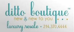 Ditto Boutique Resale logo