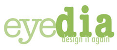 eyedia, design it again Furniture Consignment logo