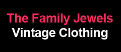 The Family Jewels Vintage Clothing logo