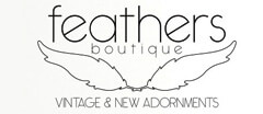 Feathers Boutique Vintage logo