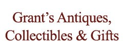 Grant's Antiques, Collectibles & Gifts Antique logo