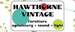 Hawthorne Vintage Vintage logo