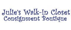 Julie's Walk-In Closet Womens Consignment shop