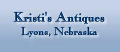Kristi's Antique Antique logo