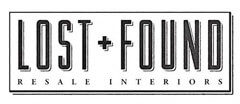 The Lost + Found Resale Interiors, LLC Furniture Consignment shop