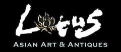 Lotus Asian Art & Antiques Antique logo